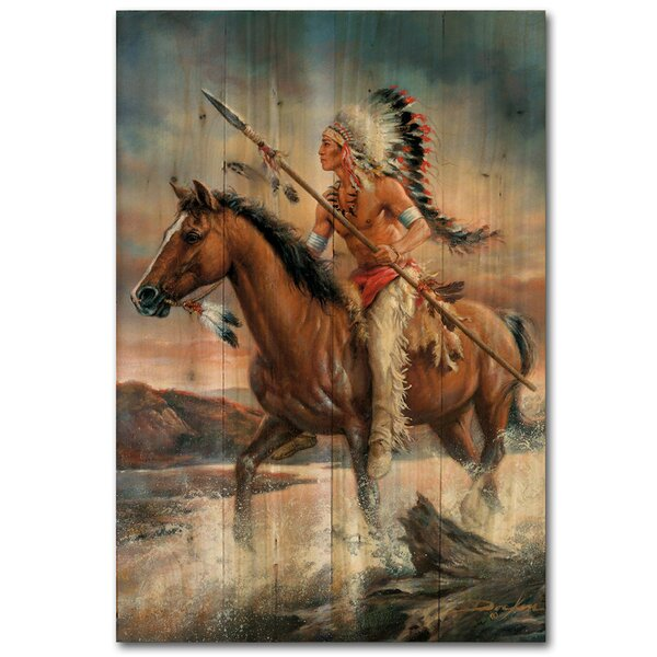 Legends of the West by Russ Docken Painting Print Plaque by WGI-GALLERY