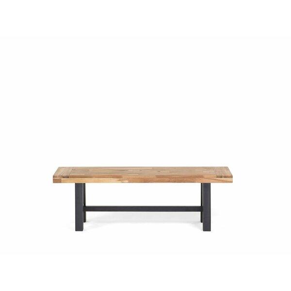 Nelsen Wood Bench by Gracie Oaks