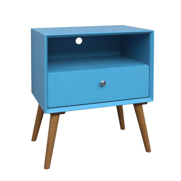 Bivens 1 Drawer Nightstand by Corrigan Studio