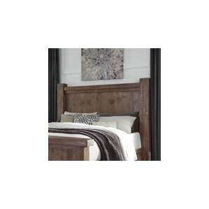 Saranac Poster Panel Headboard by Loon Peak