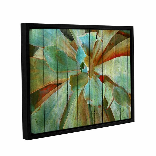 Summer Succulent Framed Painting Print on Wrapped Canvas by Bay Isle Home