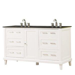 double bathroom vanity. fairlee 60\ double bathroom vanity