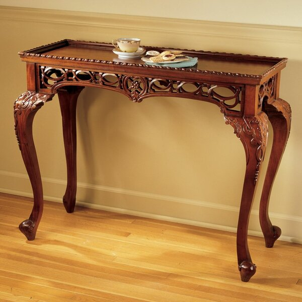 Home & Garden Filigree Console Table