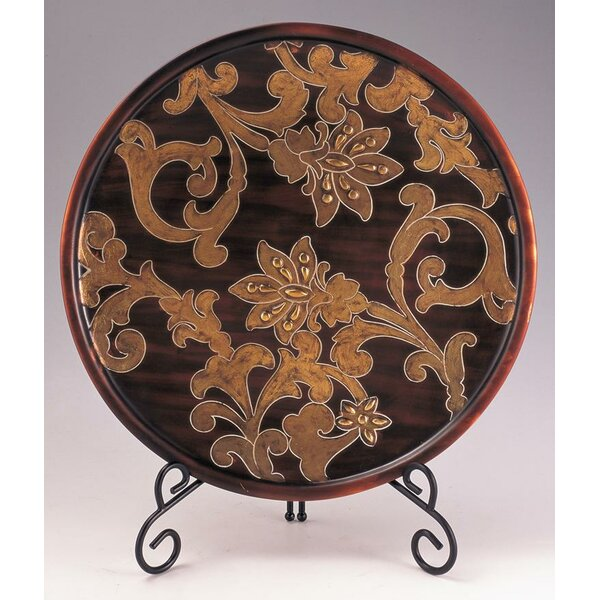 Fried Decorative Plate with Stand by Astoria Grand