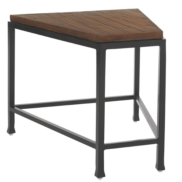 Ocean Club Pacifica Wedge Iron Side Table by Tommy Bahama Outdoor