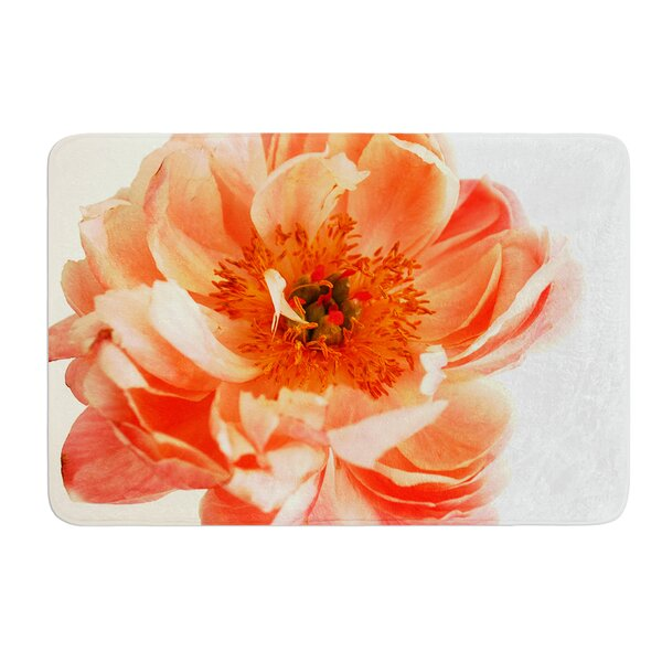 Blushing Peony by Pellerina Design Bath Mat by East Urban Home