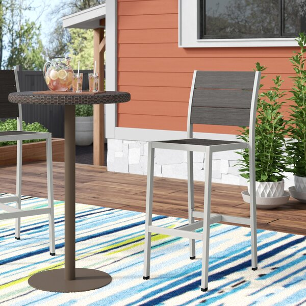 Coline Outdoor 29 Armless Patio Bar Stool by Orren Ellis