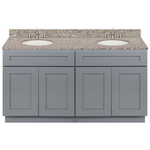 Streetman 60 Double Bathroom Vanity Set by Winston Porter