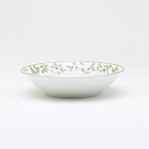 Holly and Berry Gold 12 oz. Soup Bowl (Set of 4) by Noritake
