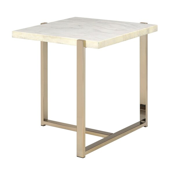 New Hartford End Table by Everly Quinn Everly Quinn