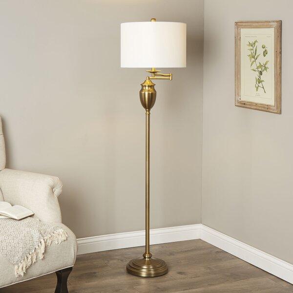 Aurora 60 Swing Arm Floor Lamp by Birch Lane™