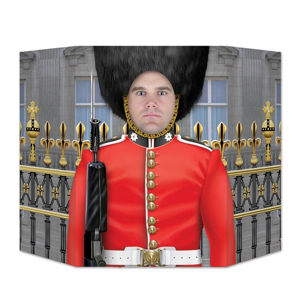 Royal Guard Photo Prop Standup by The Beistle Company