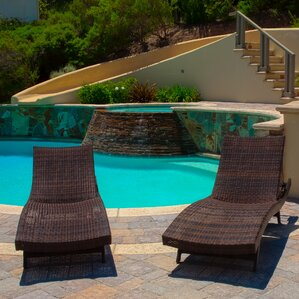 Perfect Gadbois Adjustable Chaise Lounge (Set Of 2)