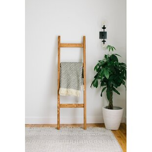 Review Handmade 5 ft Blanket Ladder By Gracie Oaks