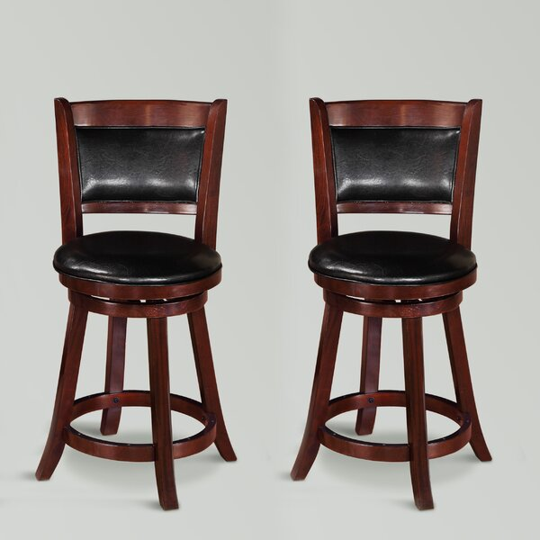 Parkmont Swivel Bar & Counter Stool (Set Of 2) By Winston Porter