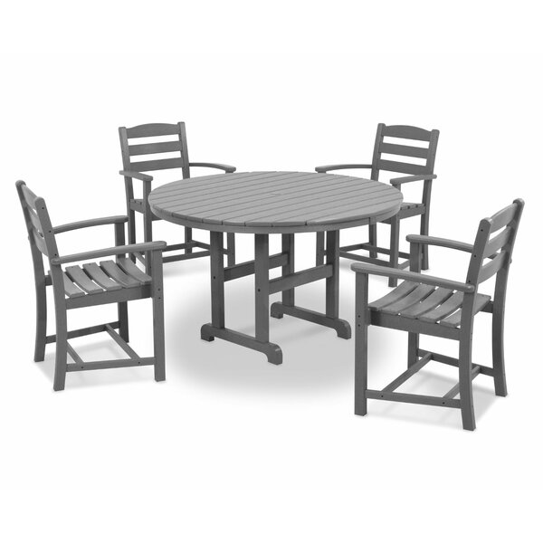 La Casa Café 5-Piece Dining Set by POLYWOOD®
