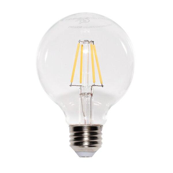 7W E2/Candelabra LED Light Bulb Pack of 6 (Set of 6) by Luminus
