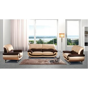 Ormsby 3 Piece Living Room Set  by Orren Ellis