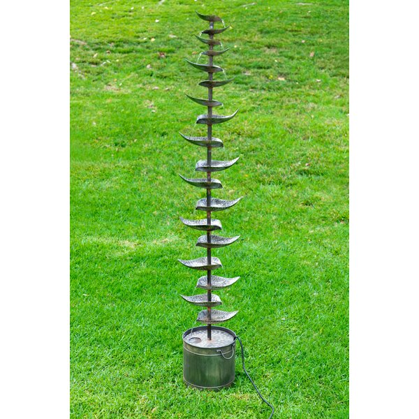 Metal Tiered Fountain by Alpine
