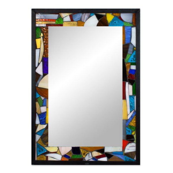 Mosaic Wall Mirror by Novica