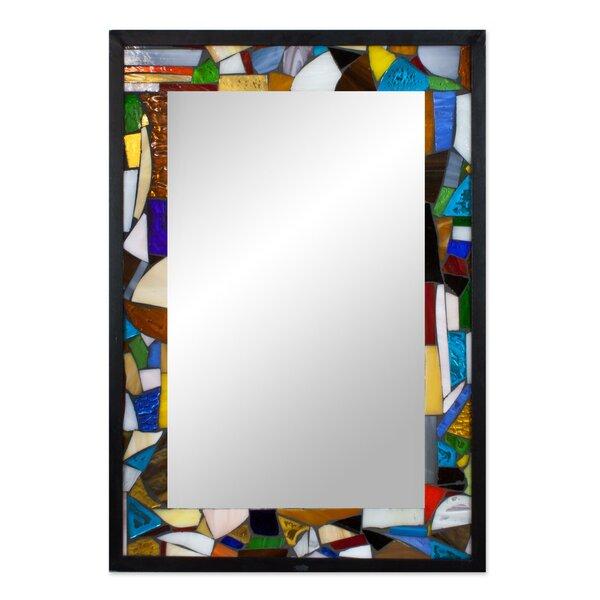 Mosaic Wall Mirror by Novica