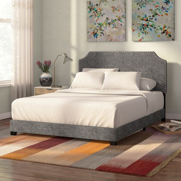Kyara Upholstered Panel Bed by Zipcode Design