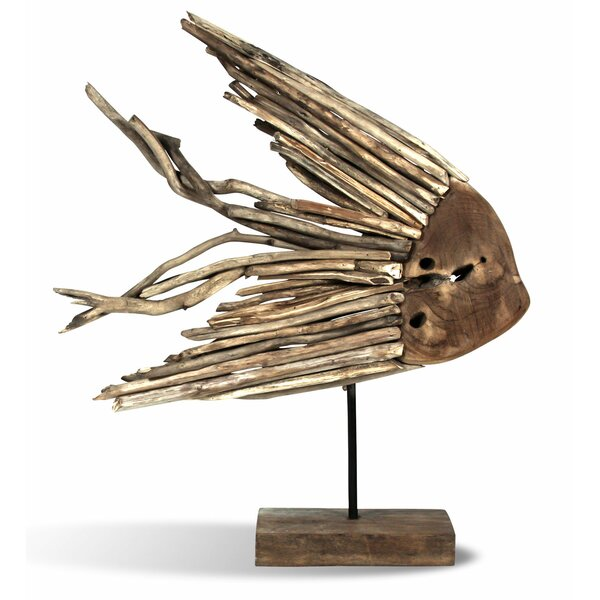 Driftwood Fish on Stand by Ibolili