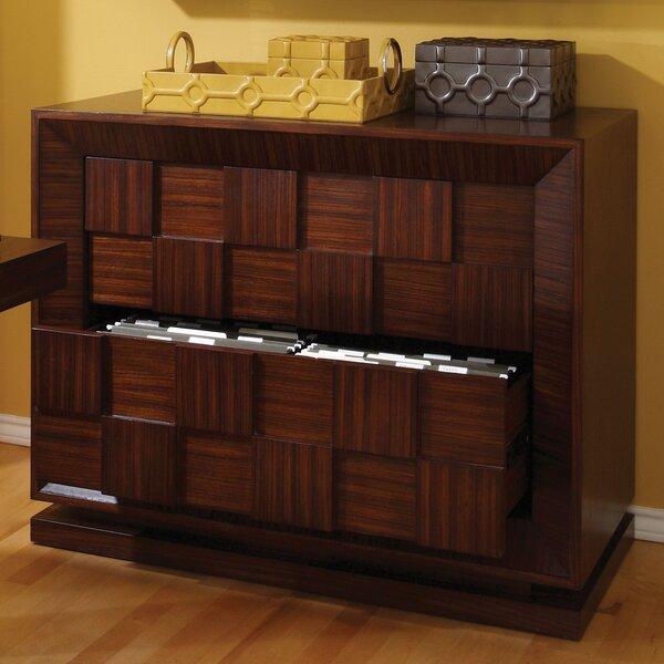 Demetrius 2-Drawer  File Cabinet