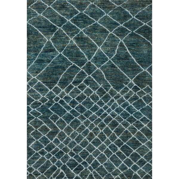 Palumbo Hand-Knotted Mediterranean Area Rug by Union Rustic