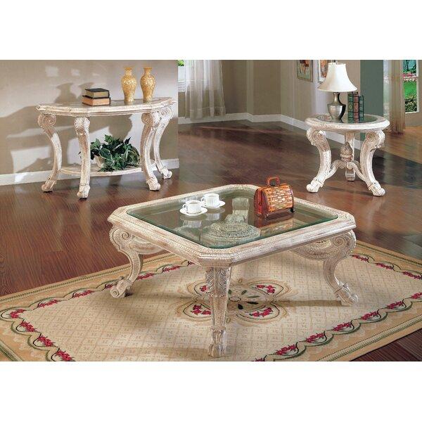 Alaskan 3 Piece Coffee Table Set by Astoria Grand