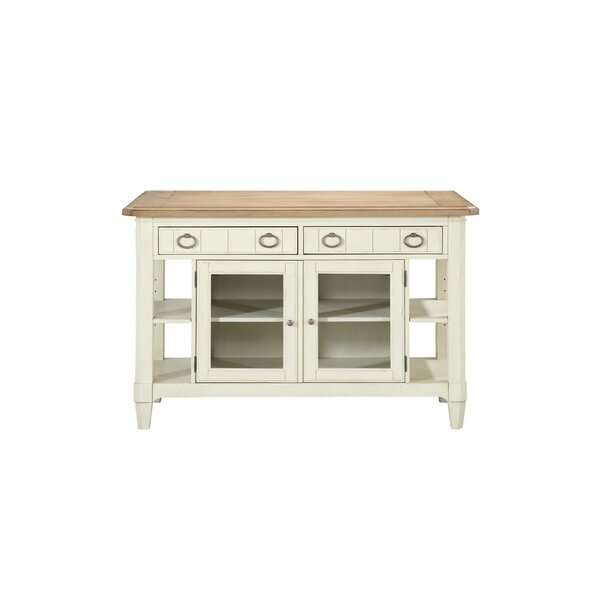 Millbrook Kitchen Island Solid Wood by Panama Jack Home