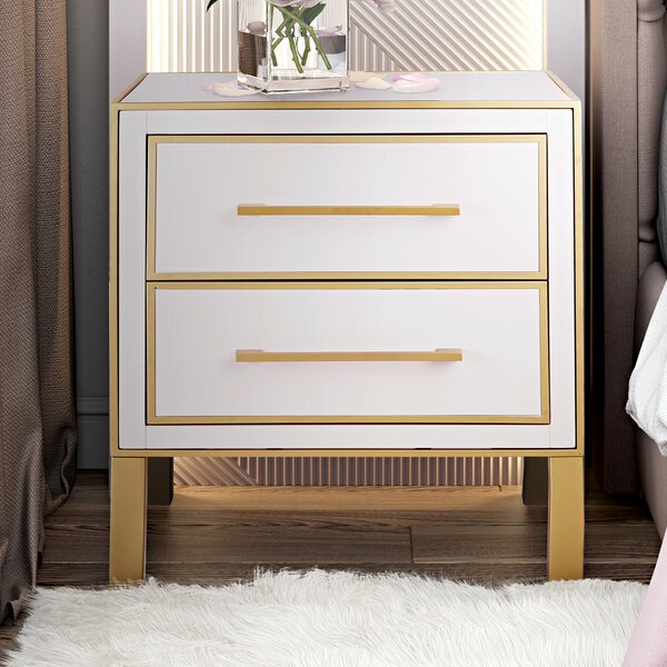 Jilliann End Table by Everly Quinn Everly Quinn