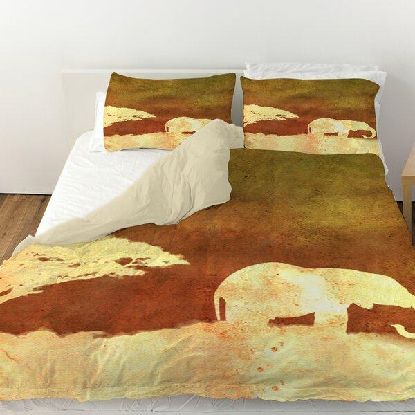 Safari Sunrise 1 Duvet Cover by Manual Woodworkers & Weavers
