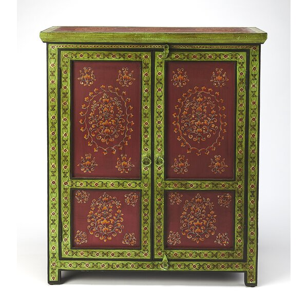Genivee 2 Door Accent Cabinet by World Menagerie World Menagerie