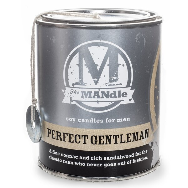 Perfect Gentleman Soy Jar Candle by Eco Candle Co