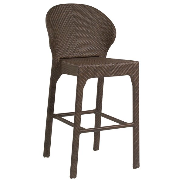 All-Weather Bali 30 Patio Bar Stool without Arms by Woodard