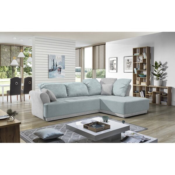 Best Of The Day Mahesh Sleeper Sectional by Latitude Run by Latitude Run