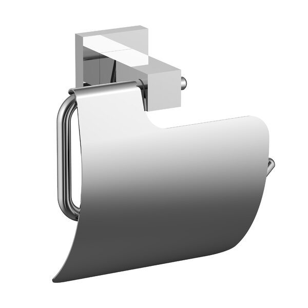 Clyde Wall Mount Toilet Paper Holder by Wade Logan