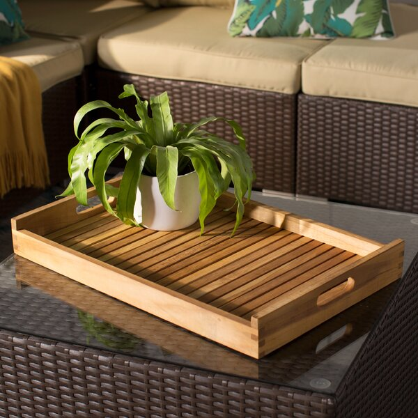 Rectangular Serving Tray by Regal Teak