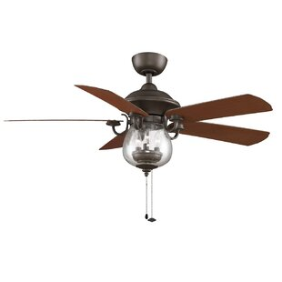 Compare & Buy 52 Crestford 5-Blade Ceiling Fan By Fanimation