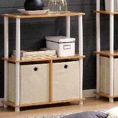 Go Etagere Bookcase (Set of 2) by Furinno