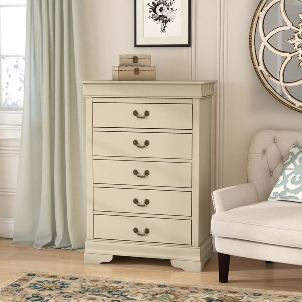 Babcock 5 Drawer Chest By Lark Manor by Lark Manor #1