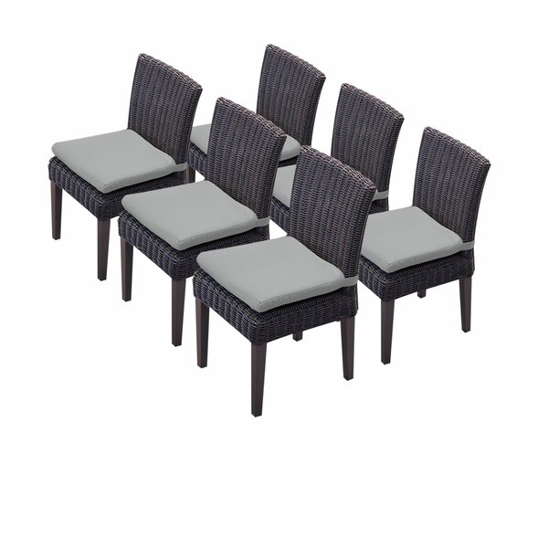 Fairfield Patio Dining Chair with Cushion (Set of 6) by Sol 72 Outdoor Sol 72 Outdoor