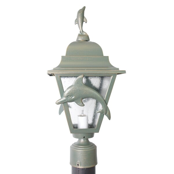 Penfield Dolphin Series 1 Light 20 Post Lantern by Alcott Hill