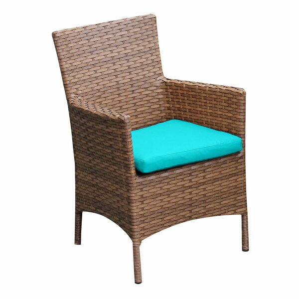 Laguna Patio Dining Chair with Cushion (Set of 2) by TK Classics TK Classics