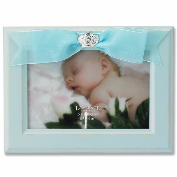 Baby Ribbon Picture Frame by Lawrence Frames
