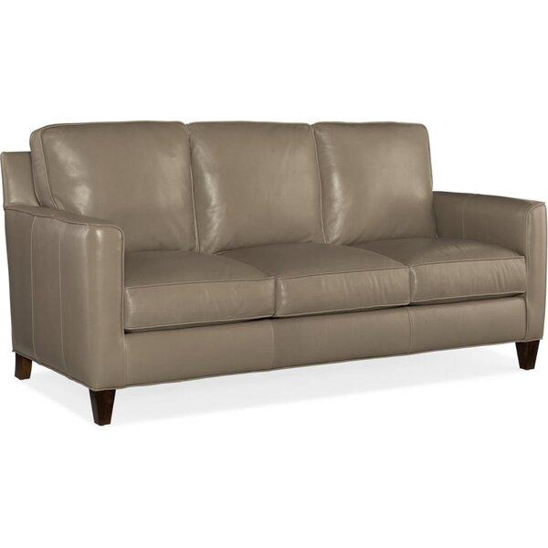 Yorba Leather Sofa by Bradington-Young