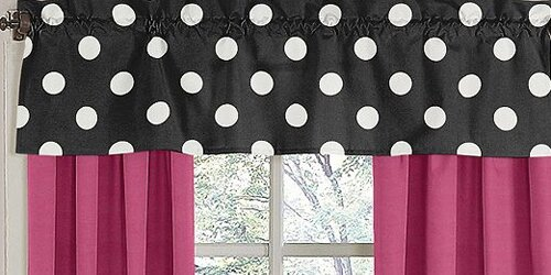 Hot Dot 54 Curtain Valance by Sweet Jojo Designs