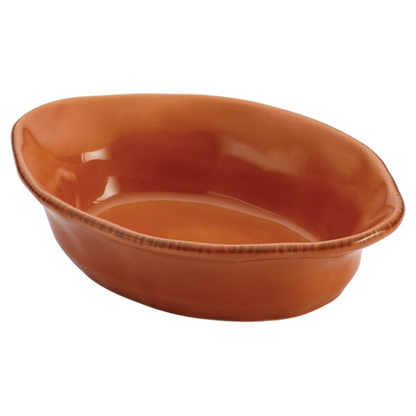 Stoneware Gratin Dish in Orange by Rachael Ray
