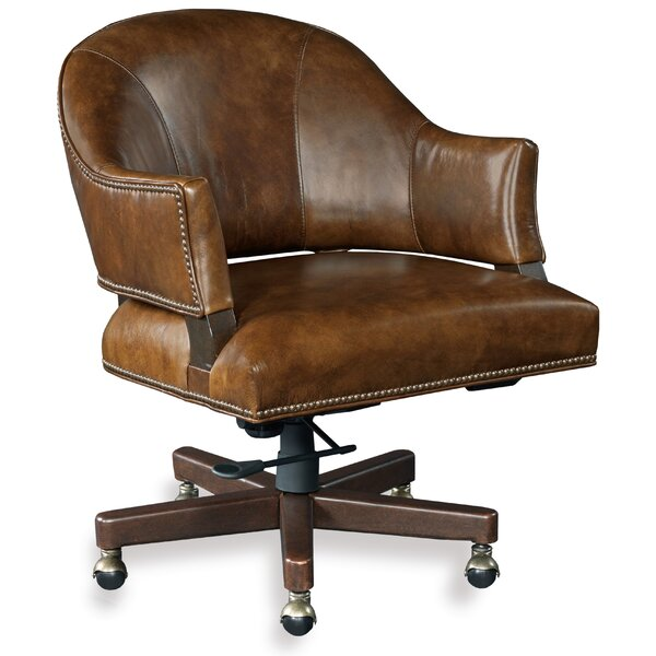 Isadora Leather Desk Chair by Hooker Furniture